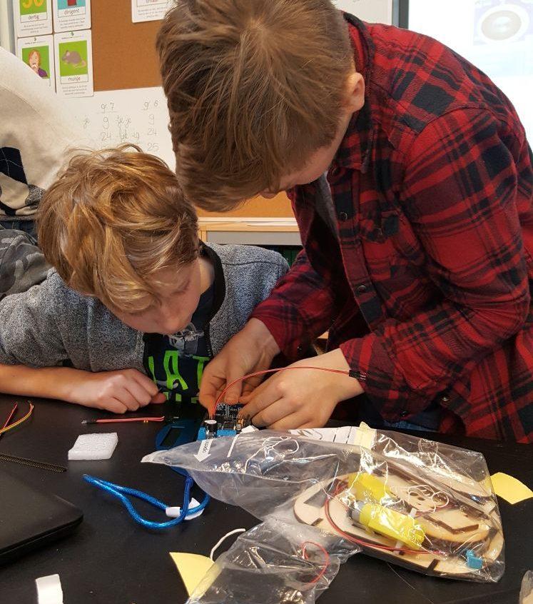 Robotica - jenaplanschool 't Hoge Land in Epe